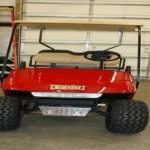 2005 E-Z-GO ELE PDS RED LIFTED