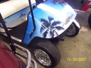 Go Bold with Unique Golf Cart Graphics
