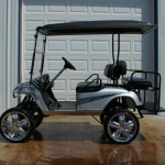 CAROLINA PANTHER GOLF CAR