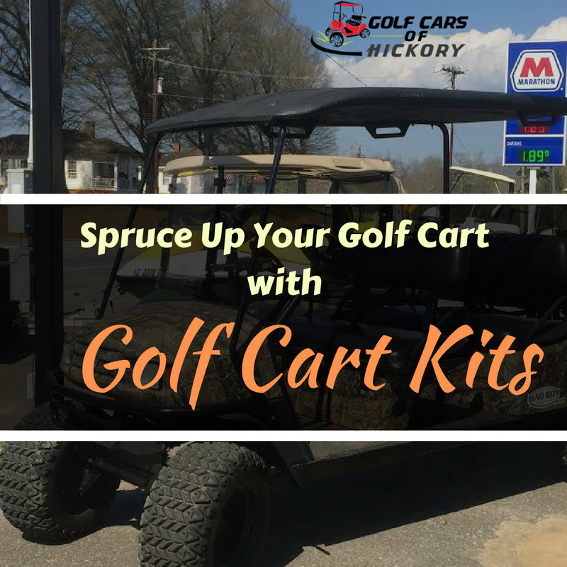 Spruce Up Your Golf Cart with Golf Cart Kits