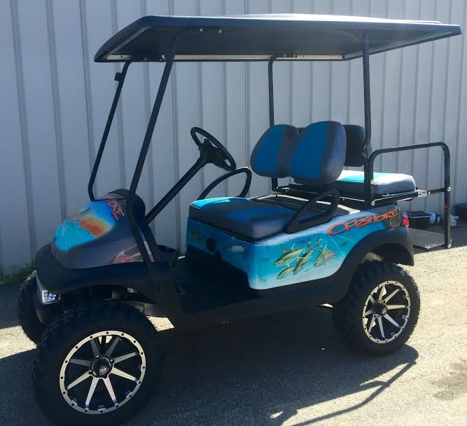 Custom Golf Carts | Golf Cars of Hickory on beach themed entertainment, beach themed shoes, beach themed doors, beach themed cabinets, beach themed signs, texas beach golf carts, beach themed cars, beach themed fencing, beach cart wheels, beach themed apartments, palm beach golf carts, beach themed hardware, beach themed home, beach themed accessories, beach themed golf course, beach themed storage, beach themed office supplies,