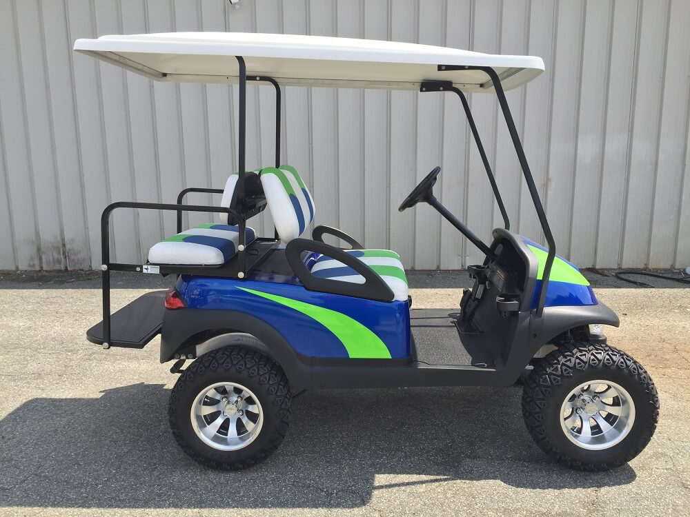 2010 Club Car Precedent 48 Volt Custom Golf Cart Golf
