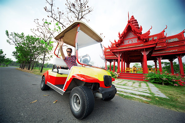 Cruise in Style with a Custom Golf Cart