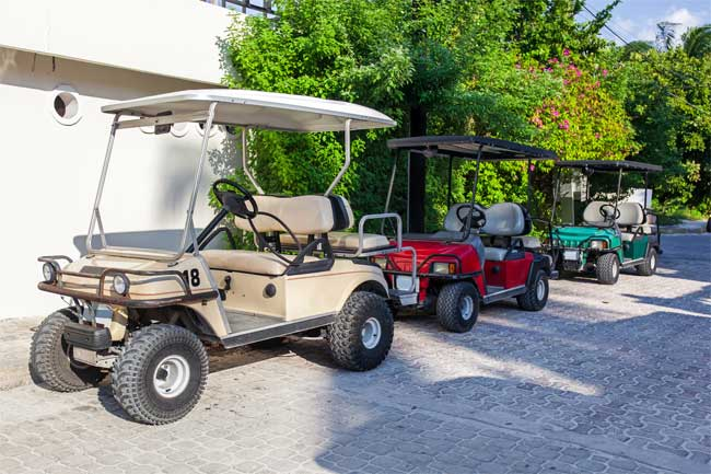 Getting Golf Cars Ready for Use